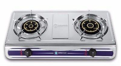 TEC Stainless Steel Cooker with 2 Hobs ASSY G-2-1A04