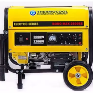 Thermocool Tec Bobo Max Electric Generator -2.5kva -2.2 Kw - 2.5kva with Push Start Button