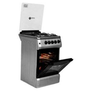 TEC COOKER STAND GAS/ELECTRIC SUPREME 504G SILVER