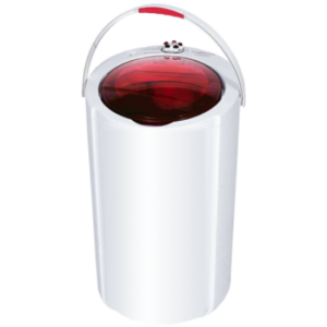 """Cutie"" Mini Washing Machine (3.5KG) HWM3500 (Red & White Lid)"