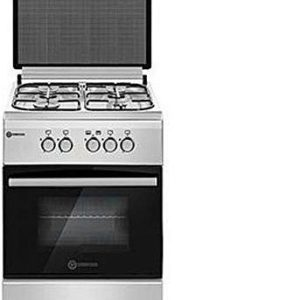 TEC Luxury Cooker (50cm x 60cm) with 3 Gas & 1 Electric Burner (Silver) TLC 503G1E