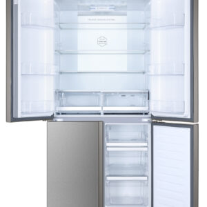 Haier HTF-610DM7 American Fridge Freezer - Stainless Steel Effect - A++