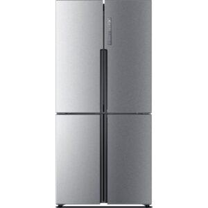HAIER HTF-456DM6 60/40 Inverter Fridge Freezer - Stainless Steel