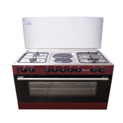 Thermocool 4 Gas Burner 2 Electric Cooker Madam 904G2E OG-9842 bur