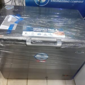 Haier Thermocool Large Inverter Chest Freezer HTF-379H SILVER